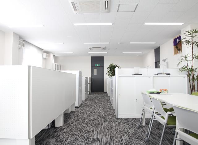 田中産業のオフィス